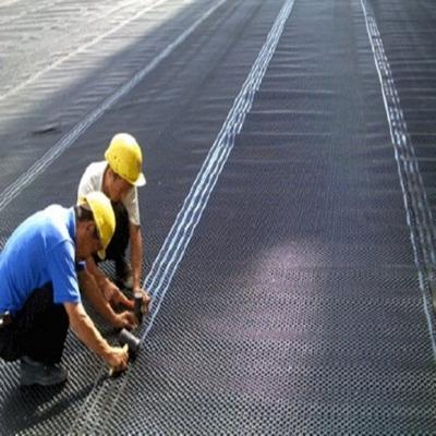 排水板在地下室防潮防渗的功能应用