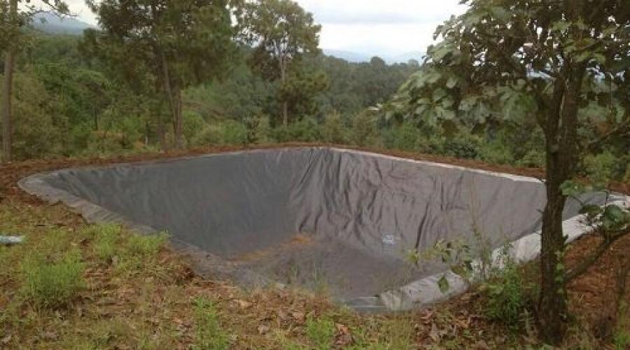 国外山顶蓄水池